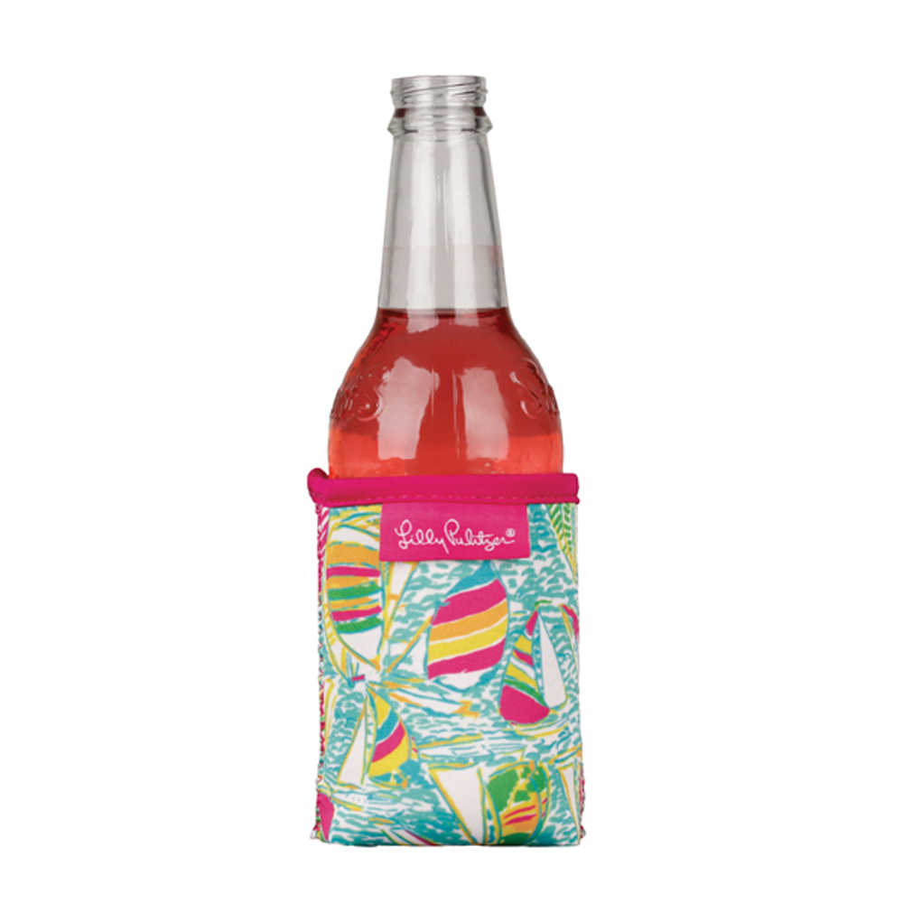 Lilly Pulitzer You Gotta Regatta Can And Bottle Hugger