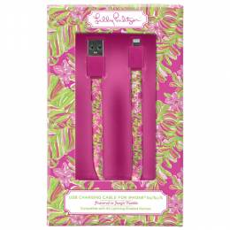 Lilly Pulitzer Jungle Tumble iPhone 5 Charging Cord