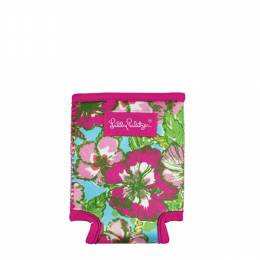 Lilly Pulitzer Drink Koozie Can Hugger in Big Flirt