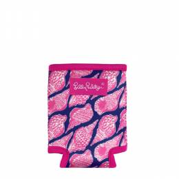 Lilly Pulitzer Drink Koozie Can Hugger in Cute as Shell