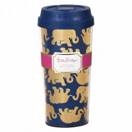 Lilly Pulitzer Tusk in Sun Thermal Mug