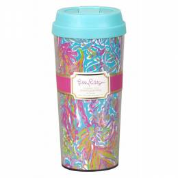 Lilly Pulitzer Scuba to Cuba Thermal Mug