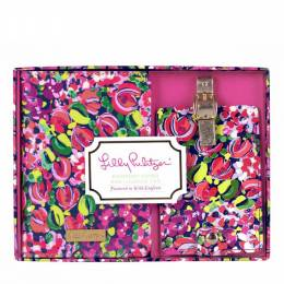 Lilly Pulitzer Wild Confetti Luggage Tag and Passport Holder