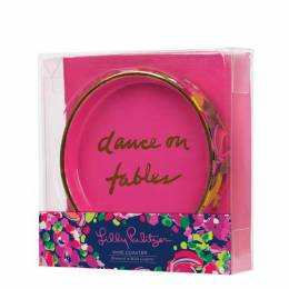 Lilly Pulitzer Wine Coaster in Wild Confetti