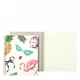 Kate Spade New York Large Spiral Notebook in Favorite Things