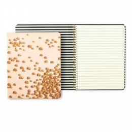 Kate Spade New York Spiral Notebook in Pink Pearls