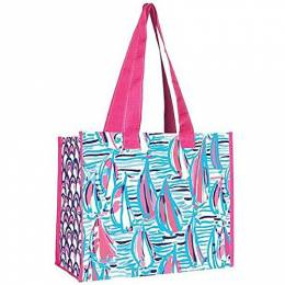 Lilly Pulitzer Red Right Return Market Bag