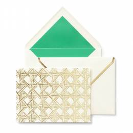 kate spade NEW YORK Caning Notecard Set