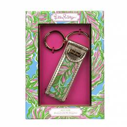 Lilly Pulitzer In the Bungalows Key Fob