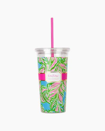 In the Bungalows Tumbler with Straw