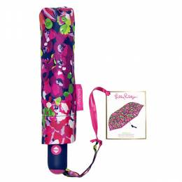 Lilly Pulitzer Wild Confetti Travel Umbrella