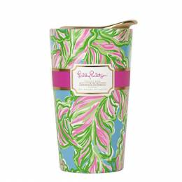 Lilly Pulitzer In the Bungalows Ceramic Travel Mug