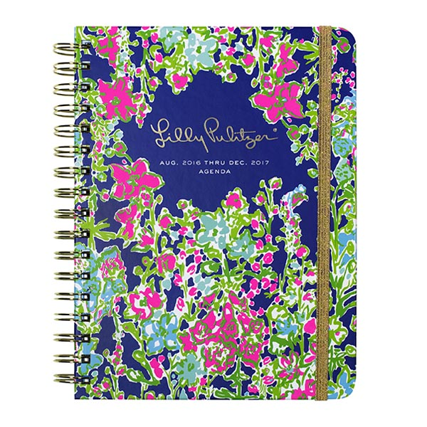 Lilly Pulitzer 2016-2017 17 Month Large Agenda in Southern Charm