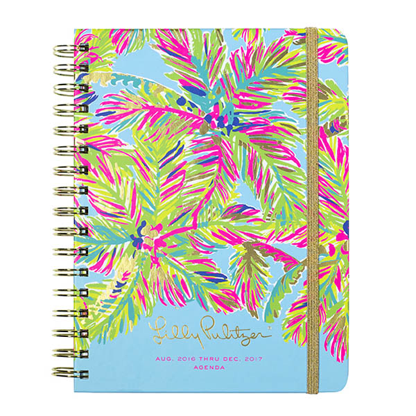 Lilly Pulitzer 2016-2017 17 Month Large Agenda in Island Time