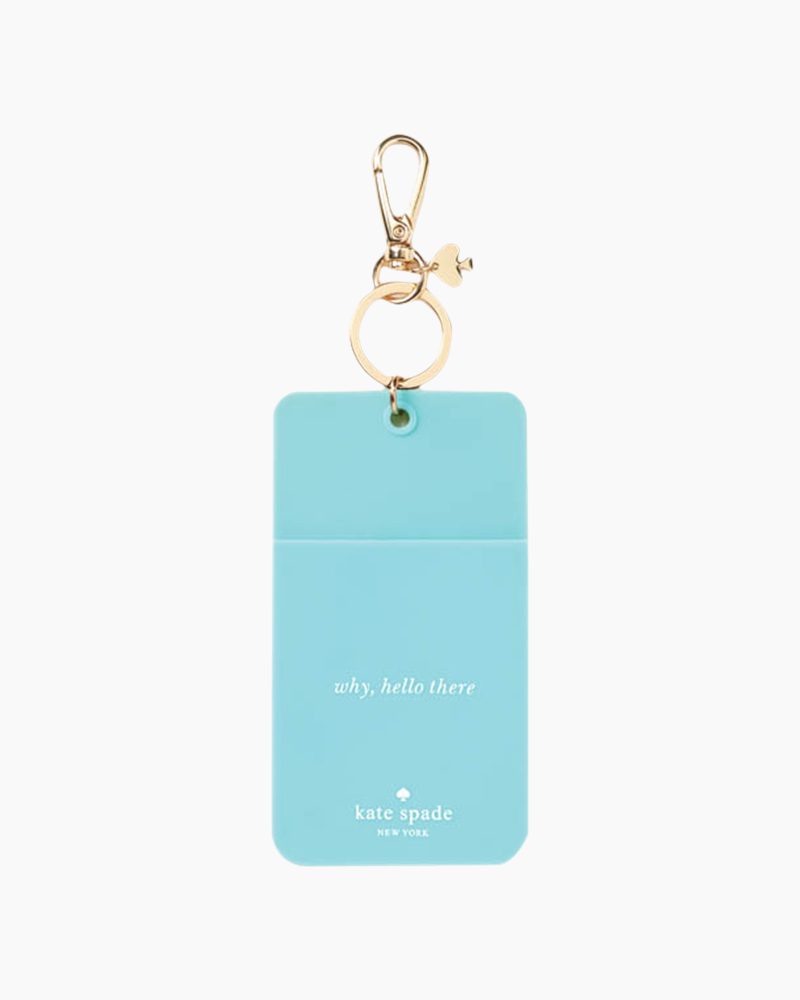 kate spade NEW YORK Turquoise Colorblock ID Clip