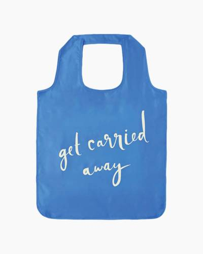 Get Carried Away Reusable Shopping Tote