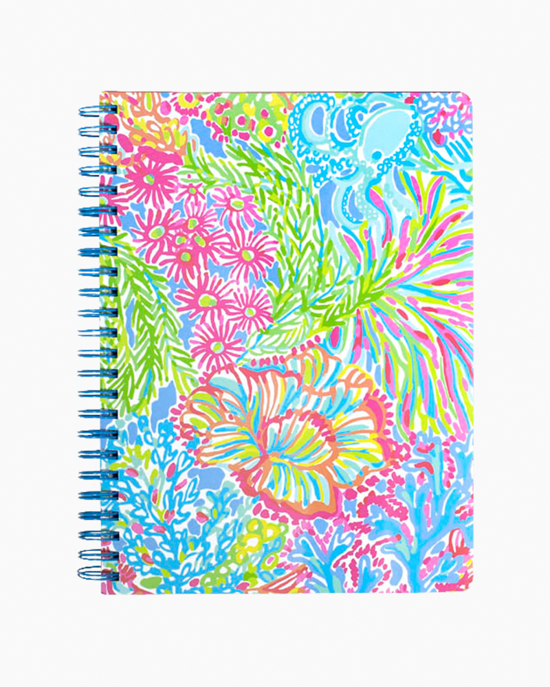 Lilly Pulitzer Mini Notebook in Lovers Coral