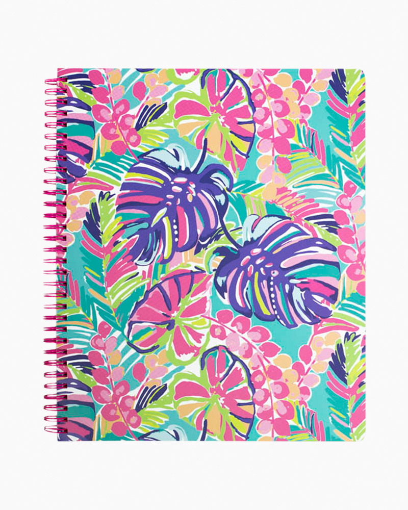 Lilly Pulitzer Large Notebook in Exotic Garden