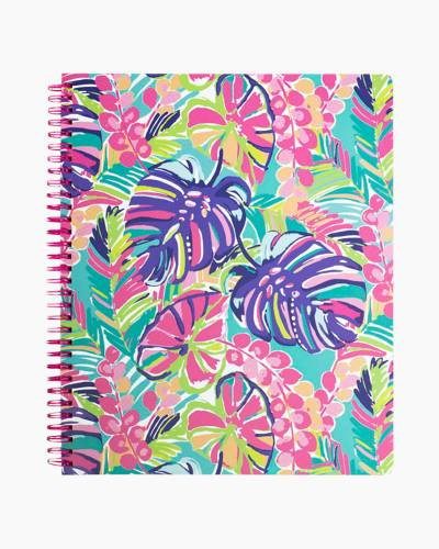 Large Notebook in Exotic Garden