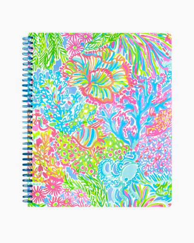 Large Notebook in Lovers Coral