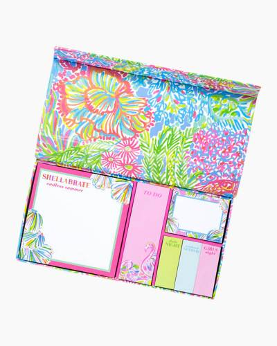 Superieur Lilly Pulitzer Note Cubes And Sticky Notes