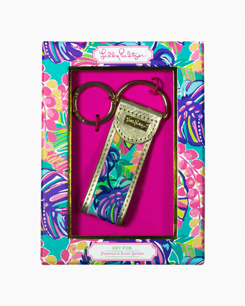 Lilly Pulitzer Key Fob in Exotic Garden
