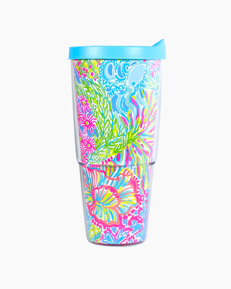 Lilly Pulitzer Insulated Tumbler in Lovers Coral