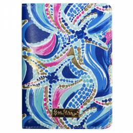 Lilly Pulitzer Passport Cover in Ocean Jewels