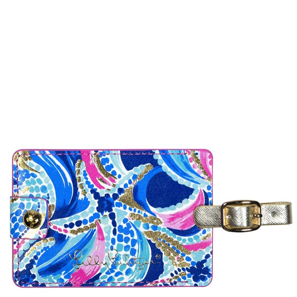 Lilly Pulitzer Luggage Tag in Ocean Jewels
