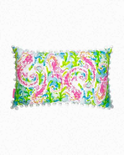 Medium Throw Pillow in Seahorse
