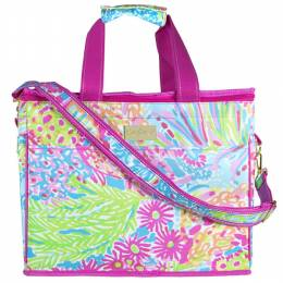 Lilly Pulitzer Insulated Cooler in Lovers Coral