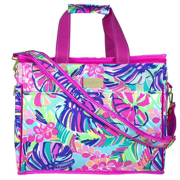 Lilly Pulitzer Insulated Cooler in Exotic Garden