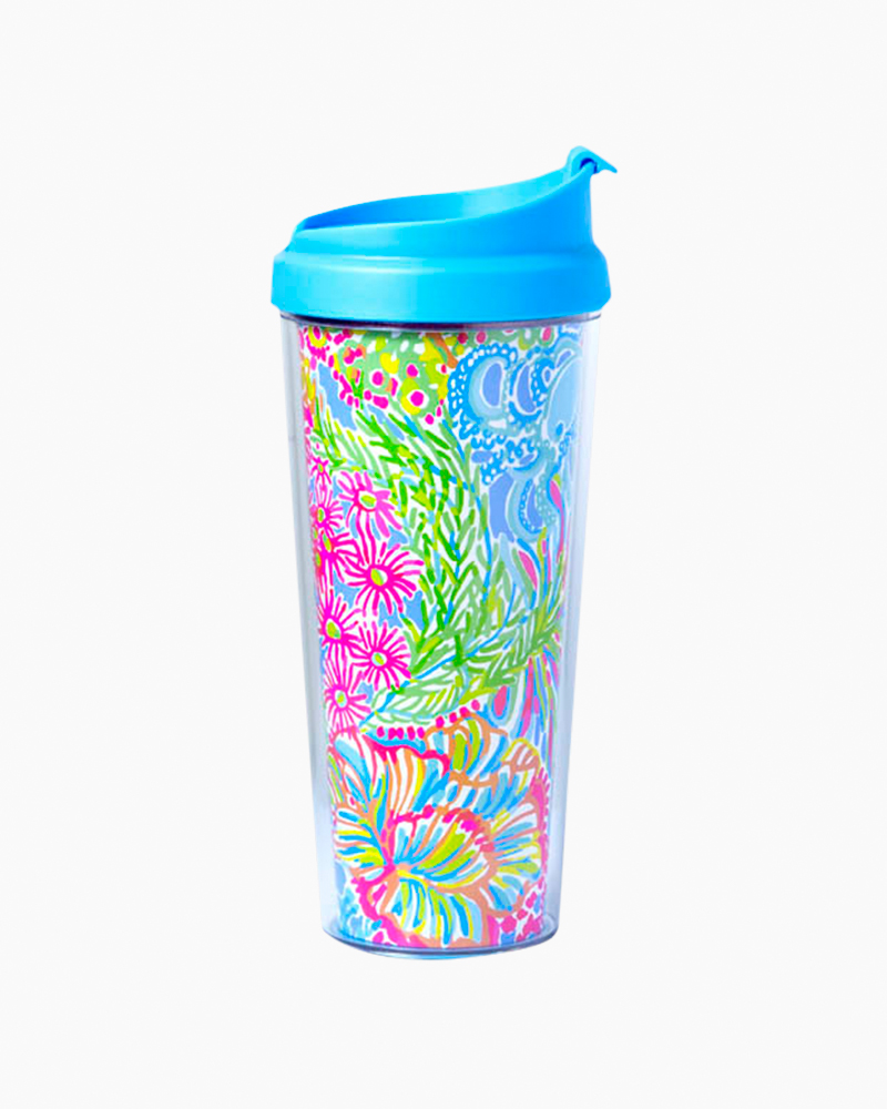 Lilly Pulitzer Thermal Mug in Lovers Coral