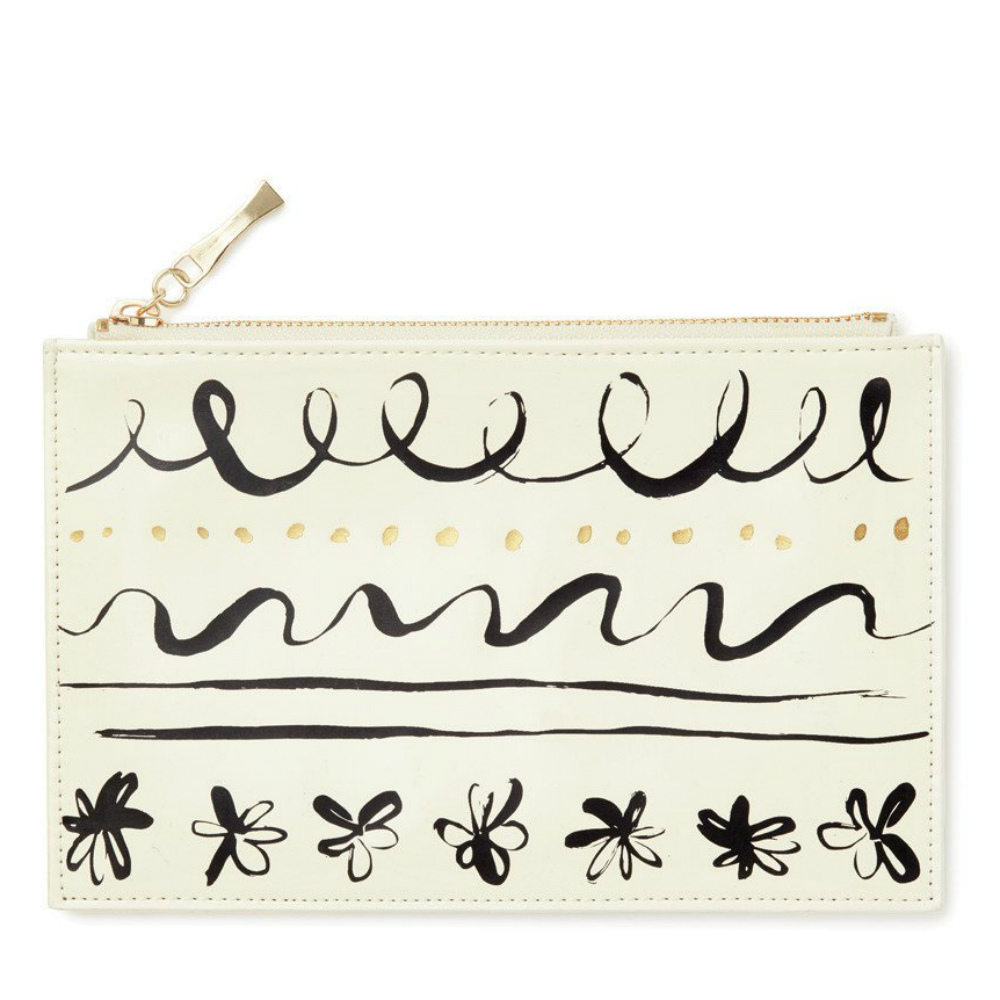 Kate Spade Pencil Pouch in Daisy Place