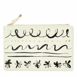 kate spade NEW YORK Pencil Pouch in Daisy Place