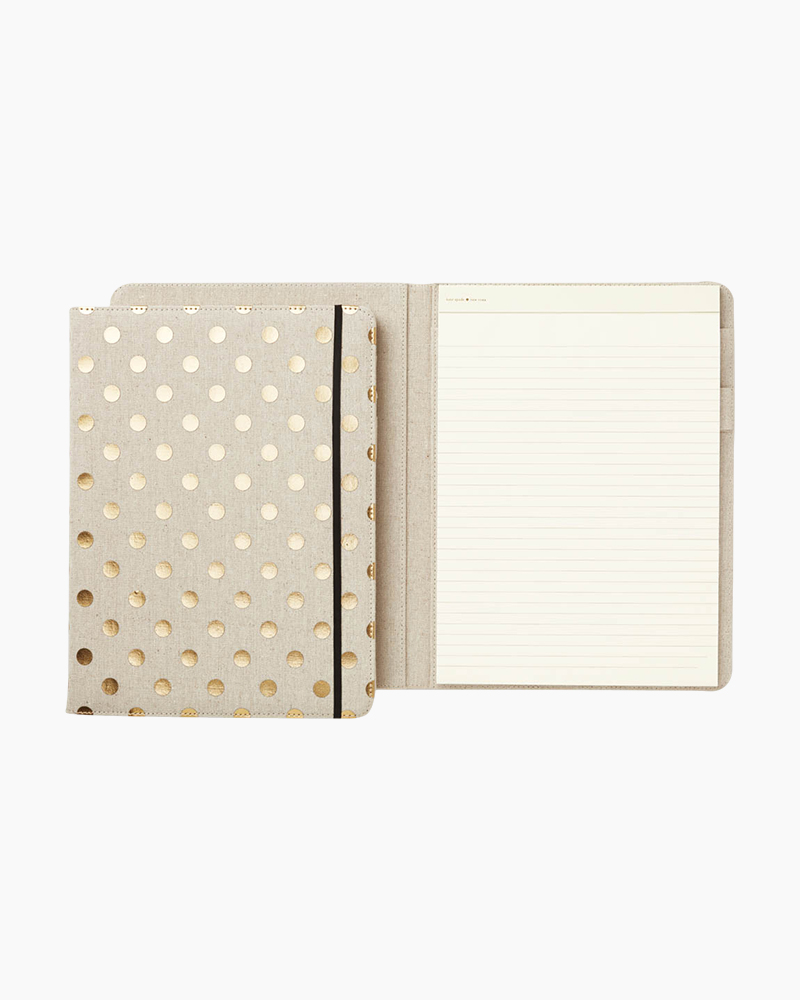 kate spade NEW YORK Polka Dot Notepad Folio