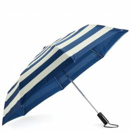 kate spade NEW YORK Off We Go Travel Umbrella in Jubilee Stripe
