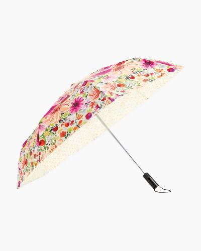 Off We Go Travel Umbrella in Dahlia