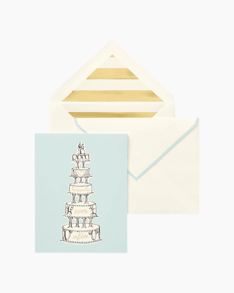 Kate Spade New York Happily Ever After Individual Greeting Card