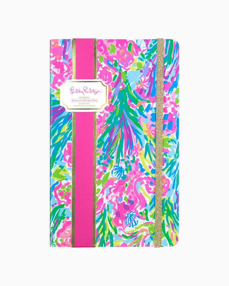 Lilly Pulitzer Journal in Fan Sea Pants