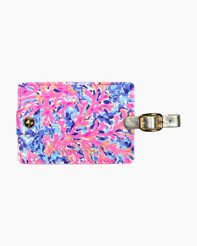 Luggage Tag in Coco Coral Crab
