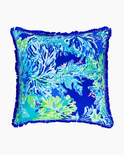 Large Throw Pillow in Wade and Sea
