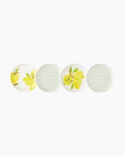 Lemon Melamine Coaster Set