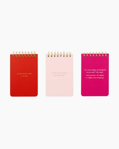 She Statements Spiral Notepad Set