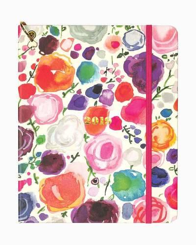 Large Floral 2019 Planner