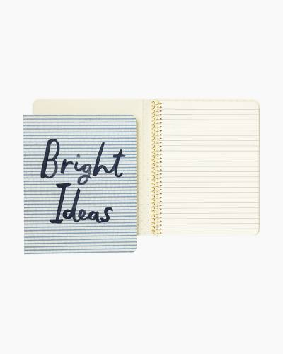Bright Ideas Concealed Spiral Notebook