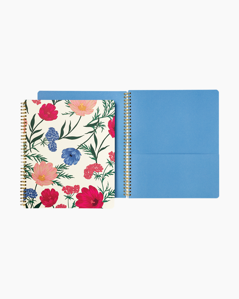 Blossom Large Spiral Notebook