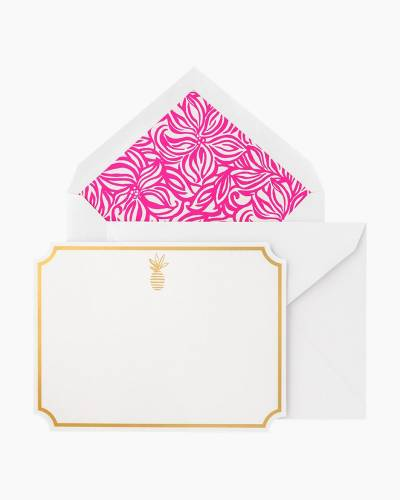 Thank You Notes In Swirling Floral