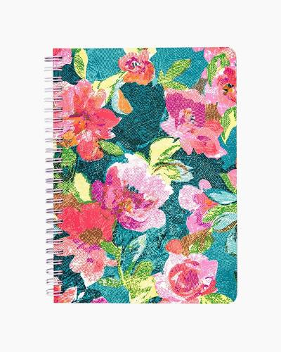 Mini Notebook with Pocket in Superbloom