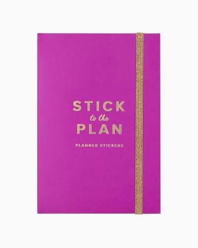 Violet Cactus Flower Planner Sticker Book